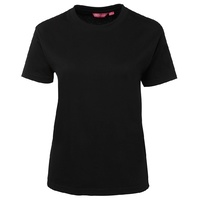 JB's LADIES CREW NECK TEE BLACK 08 - 20