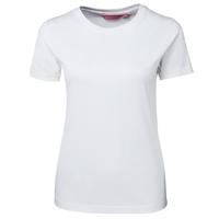 JB's LADIES TEE WHITE 08 - 20