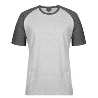 C OF C TWO TONE TEE 13% MARLE/CHARCOAL MARLE 2XS - 5XL