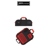 CHEF'S SMALL KNIFE BAG - BLACK/RED