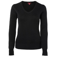 JB's LADIES KNITTED JUMPER BLACK 6J1