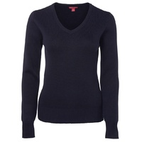 JB's LADIES KNITTED JUMPER NAVY 6J1