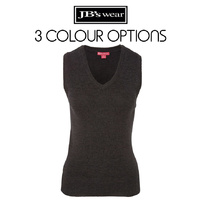 JB's LADIES KNITTED VEST 6V1