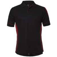 PDM BELL POLO BLACK/RED