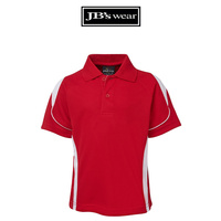 PDM BELL POLO RED/WHITE