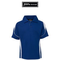 PDM BELL POLO ROYAL/WHITE