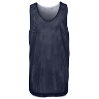 PODIUM KIDS BASKETBALL SINGLET NAVY/WHITE XL