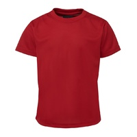 PODIUM POLY TEE RED S - 5XL