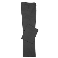 LADIES CLASSIC FLAT FRONT PANT - CHARCOAL BS29320
