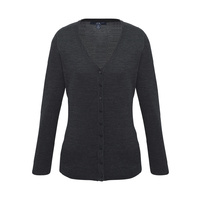 LADIES MILANO CARDIGAN - CHARCOAL LC417L