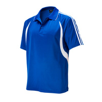 MENS FLASH POLO SHIRT ROYAL/WHITE P3010