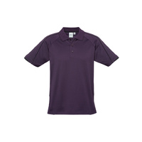 MENS BLADE POLO SHIRT GRAPE/BLACK P303MS