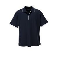 MENS ELITE POLO SHIRT NAVY/WHITE P3200