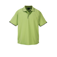 MENS ELITE POLO PISTACHIO/NAVY P3200