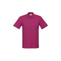 KIDS CREW POLO SHIRT FUCHSIA P400KS SZ 4 - 16