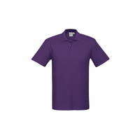 KIDS CREW POLO SHIRT PURPLE P400KS SZ 4 - 16
