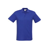 MENS CREW POLO SHIRT ROYAL P400MS