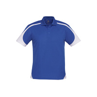 MENS TALON POLO SHIRT ROYAL/WHITE P401MS