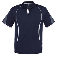 KIDS RAZOR POLO NAVY/WHITE P405KS SZ 4 - 14