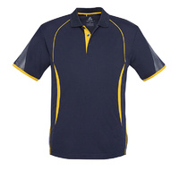 KIDS RAZOR POLO NAVY/GOLD P405KS SZ 4 - 14