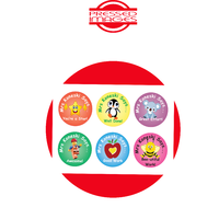 PERSONALISED TEACHERS STICKERS - CIRCLE 120PK