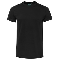 C OF C FITTED TEE BLACK 12 - 3XL