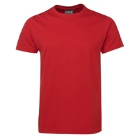 C OF C FITTED TEE RED 12 - 3XL