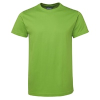 C OF C FITTED TEE LIME 12 - 3XL