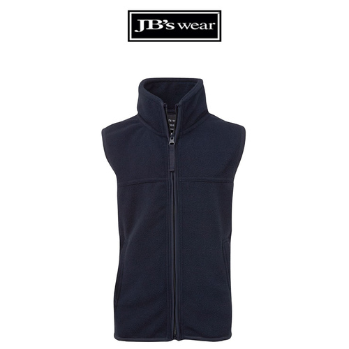 JB's KIDS POLAR VEST-Size-4-Colour-Navy