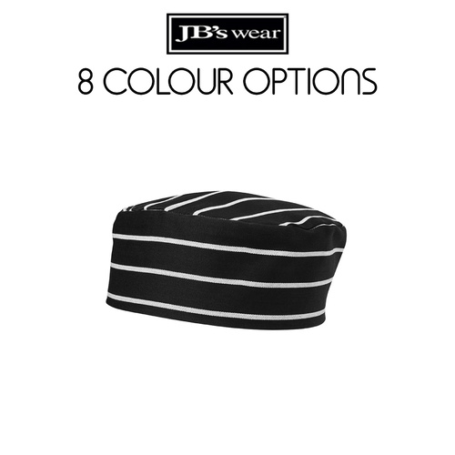 JB's CHEF'S CAP-Colour-Black