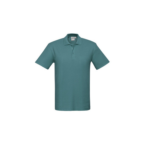 KIDS CREW POLO TEAL P400KS  6